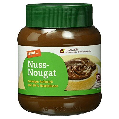 Tegut Nuss-Nougat-Creme, 400 g