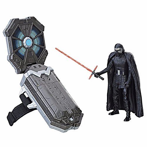 Hasbro Star Wars Star Wars–Kylo Ren Figura Action Figure con accesorios y Kit Base Pulsera guante Tecnología forcelink Episodio 8Gli Ultimi Jedi