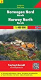 Norway North Road Map: Narvik No. 3 (Country Mapping S.)