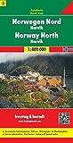 Freytag Berndt Autokarten, Blatt 3, Norwegen Nord - Narvik - Maßstab 1:400.000 (freytag & berndt Auto + Freizeitkarten)