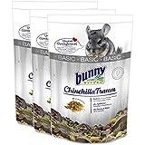 3 x 3,2 kg = 9,6 kg Bunny Chinchilla Traum Basic Futter für Chinchillas