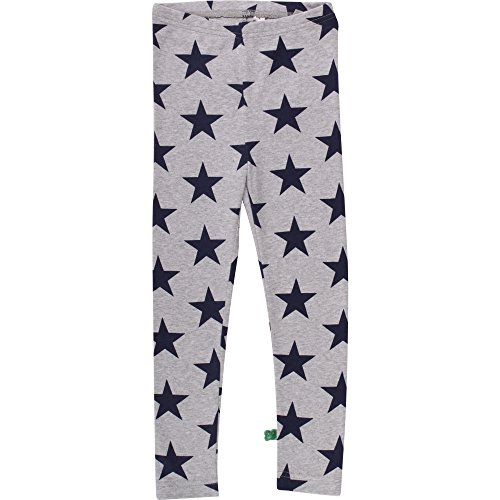 Fred'S World By Green Cotton Star Leggings Baby Sculptant Bébé Fille, Gris (Pale Greymarl 207670000) 74 cm