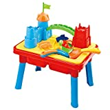 deAO Sand and Water Table - Moated Castle Accessories Included