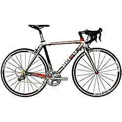 BEIOU® 2017 700C Bicicleta de carretera Shimano ULTEGRA 10S Bicicleta de carreras 540mm 560mm T700-M40 Bicicleta de fibra de carbono ultra ligera 18.4lbs CB001UT (540mm)