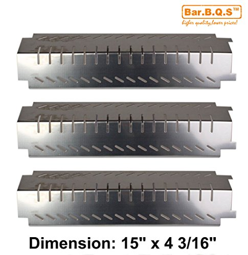 barbqs-94011-3-pack-bbq-barbecue-replacement-gas-grill-stainless-steel-heat-plate-shield-tent-diffus