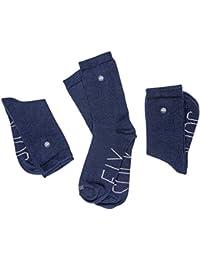 Sockfix Calcetines escolares cortos con botón (pack 3 pares)