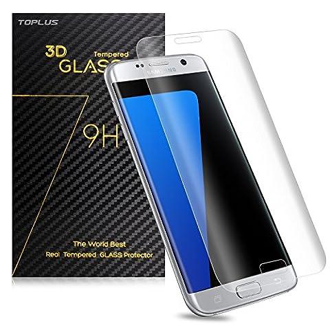 Film Protection Samsung S7 Edge - TOPLUS Film de Protection d' Écran 3D