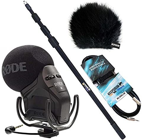 Rode SVMPR Stereo Videomic Pro Rycote KEEPDRUM Bundle inkl Tonangel