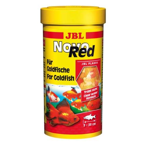 JBL NovoRed 30220 Alleinfutter für Goldfische, Flocken 1 l -