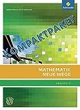 Mathematik Neue Wege SII - Analysis II, allgemeine Ausgabe 2011: Kompaktpaket: bestehend aus den Büchern Analysis II (85804) und Lineare Algebra/Analytische Geometrie (85584)