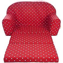 Gepetto 05.07.04.03 Kindersofa ausklappbar, rot