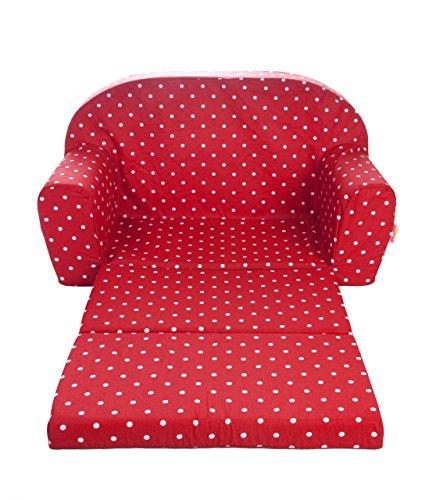 Gepetto 05.07.04.03 Kindersofa ausklappbar - Rot