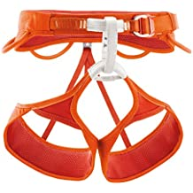 Petzl Klettergurte Sama - Arnés de escalada, color naranja, talla m