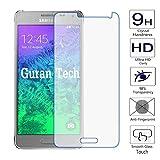 Guran® Bildschirmschutz Glasfolie für Samsung Galaxy Alpha (4.7 zoll) Smartphone Hartglas Schutzfolie Film