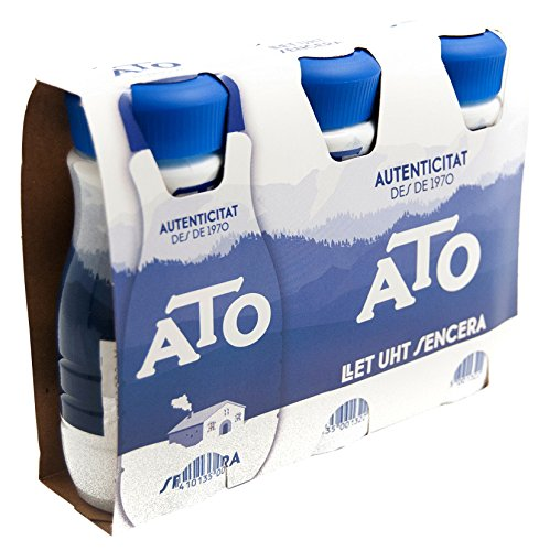 Foto de Ato Leche Entera - Pack de 3 x 200 ml - Total: 600 ml