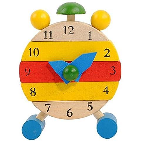 Jouets pour enfants, Kolylong Jeux éducatifs Apprendre Heure Horloge -