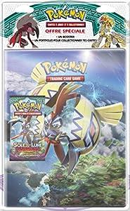 Asmodee-pob09sl02-Pack-Cuaderno correspondencia, + Booster Pokémon Sol & Luna 2-