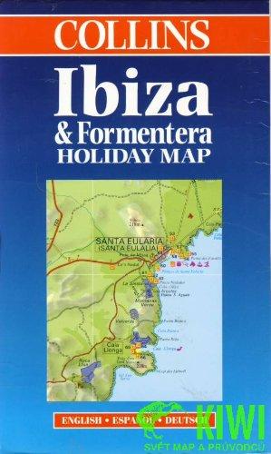 Carte touristique : Ibiza and Formentera (en anglais)