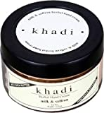Khadi Milk & Saffron Hand Cream With She...