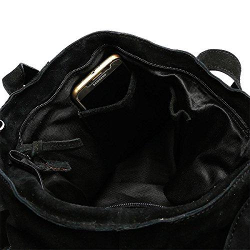 Christian Wippermann®, Borsa a spalla donna grigio Grau 36x29x15cm Grau