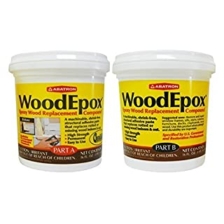 WoodEpox Wood Replacement Compound 2 Pint Kit Abatron