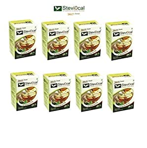 Stevia Powder in Sachets Steviocal 400 sachets pack All Natural Sweetener