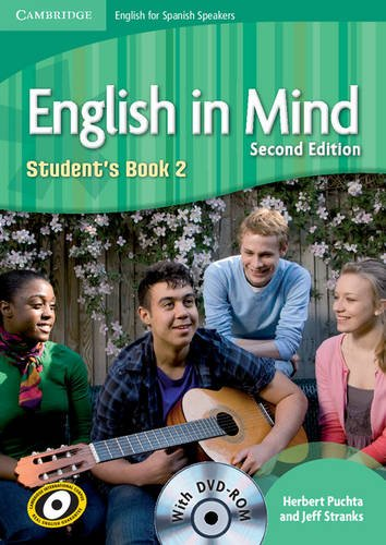 English in Mind for Spanish Speakers  2 Student's Book with DVD-ROM - 9788483239636