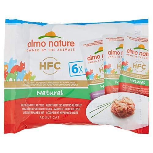 almo nature HFC Natural Poulet Humide Chat - 6 enveloppes