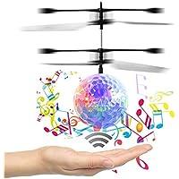 Musica sfera di volo, per bambini giocattoli volanti, RC Drone elicottero sfera incorporato brillante illuminazione (Sfera Di Musica)