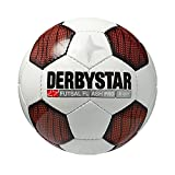 Derbystar Futsal Flash Pro S-Light, Weiß/Rot/Schwarz, 4, 1080400132