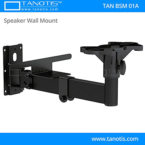 Tanotis Imported Speaker Mount with Swivel and Tilt for Booksfelf Speakers Large Sound Boxes TAN BSM 01A