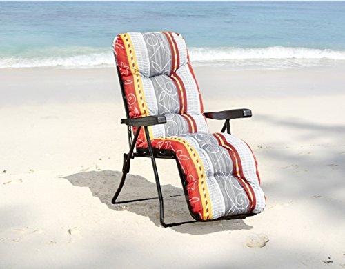 Relaxsessel Gartenstuhl  7-fach verstellbar - 3
