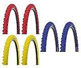 2 x Kenda MTB Reifen farbige Fahrradreifen 26 Zoll 50-559 26 x 1.95