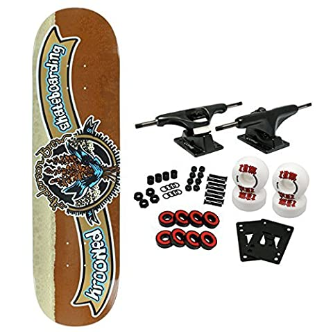 Krooked Skateboard Complete Anderson Kraft Brew 8.25
