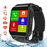 Smart Watch, Wi-Fi GPS Sports Watch with Camera/SIM Card Slot, IP68 Waterproof, Android