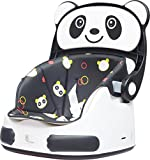 #7: R for Rabbit Candy Crush Booster Seat - Super Cute Booster Chair for Babies (Black White)