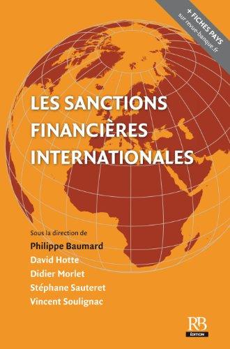 Les sanctions financières et internationales