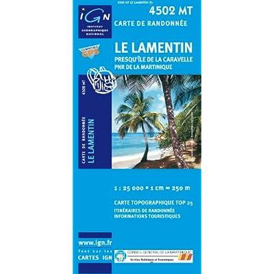 carte ign 1 25000 en ligne Carte De Randonnee : Lamentin   Ste Marie Francois PDF Download