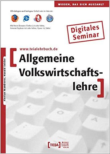 Allgemeine Volkswirtschaftslehre, CD-ROM Wissen, das sich auszahlt. Lernprogramm. Digitales Seminar