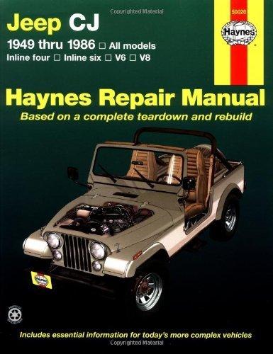 Jeep CJ 1949 thru 1986: All models (Haynes Repair Manual) 1st by Larry Warren, John H. Haynes (1997) Paperback
