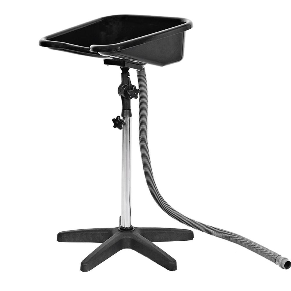 Stupendous Portable Hair Washing Sink Bowl Shampoo Basin Health Salon Treatment Tool Hairdressing Back Wash Portable W Stand Height Adjustable Black Loving Pdpeps Interior Chair Design Pdpepsorg