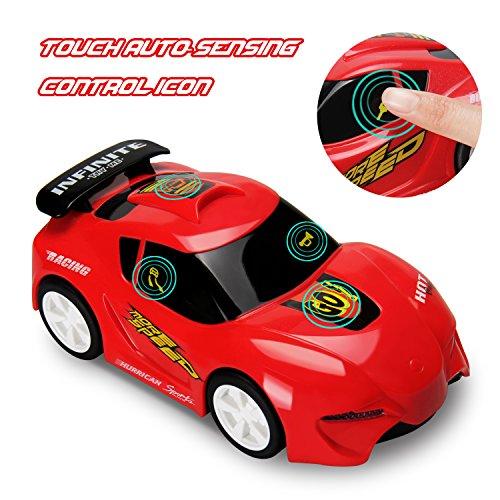 funktionale Konstruktion auseinander nehmen Spielzeug-Spielzeug Werkzeug Lastwagen für Kinder Spielzeug 3+mit Bohrmaschine und Elektrowerkzeuge für Montage,Musik und Beleuchtung,Beule und los! (Athletic sports car red -DE(huile)) (Auto Rennen Kostüm)