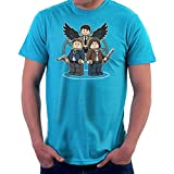 Mini Hunters Supernatural Lego Sam Dean And Castiel Men's T-Shirt