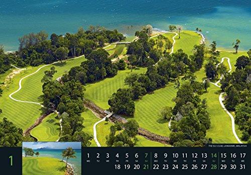 Golf 2018 - Sportkalender / Golfkalender international (49 x 34) - 3
