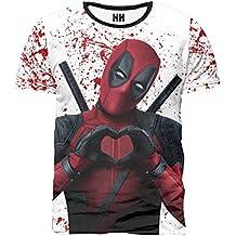 The Fan Tee Camiseta de Hombre Deadpool Comico Comic F0oa1Cn