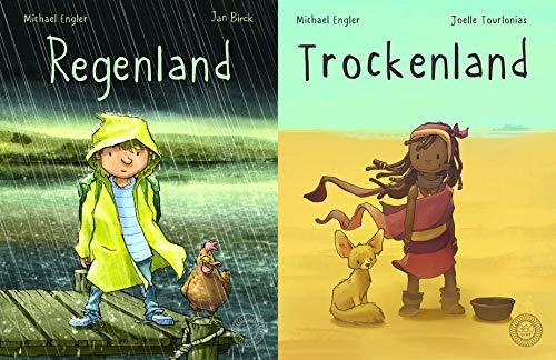 Regenland + Trockenland: Ein Wendebuch - 2 Bücher in einem