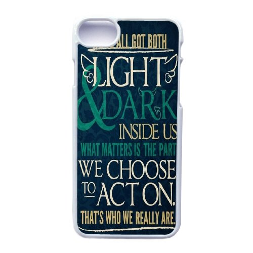 Apple hülle iphone 7 (4.7 Zoll) Handyhülle, Generic Etymology And Harry Potter Cover Handyhülle for hülle iphone 7 (4.7 Zoll) Weiß Hard Plastic Phone Handyhülle ,Telefonkasten SchutzHülle