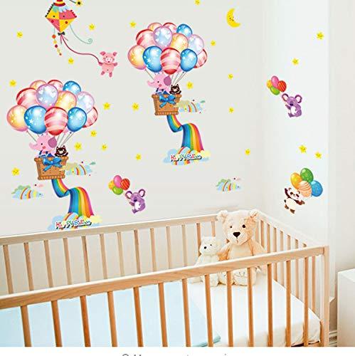 Diy Wand - Aufkleber - Ausgangsdekor - Schlafzimmer - Wand - Aufkleber für Kinderzimmer Aufkleber Removable Baby - Haus Nursery Wandplakat ()