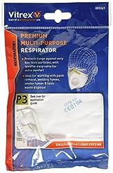 Vitrex Multi Purpose Premium Valved Fold Flat Mask Ffp3 Vit331241
