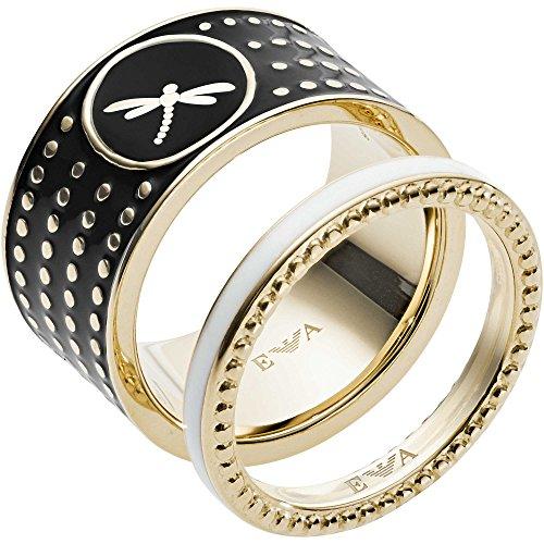 Emporio Armani -Stapelring Edelstahl Ringgröße 53 EGS2520710-6.5
